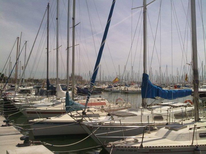 Barcos en el puerto de Mallorca