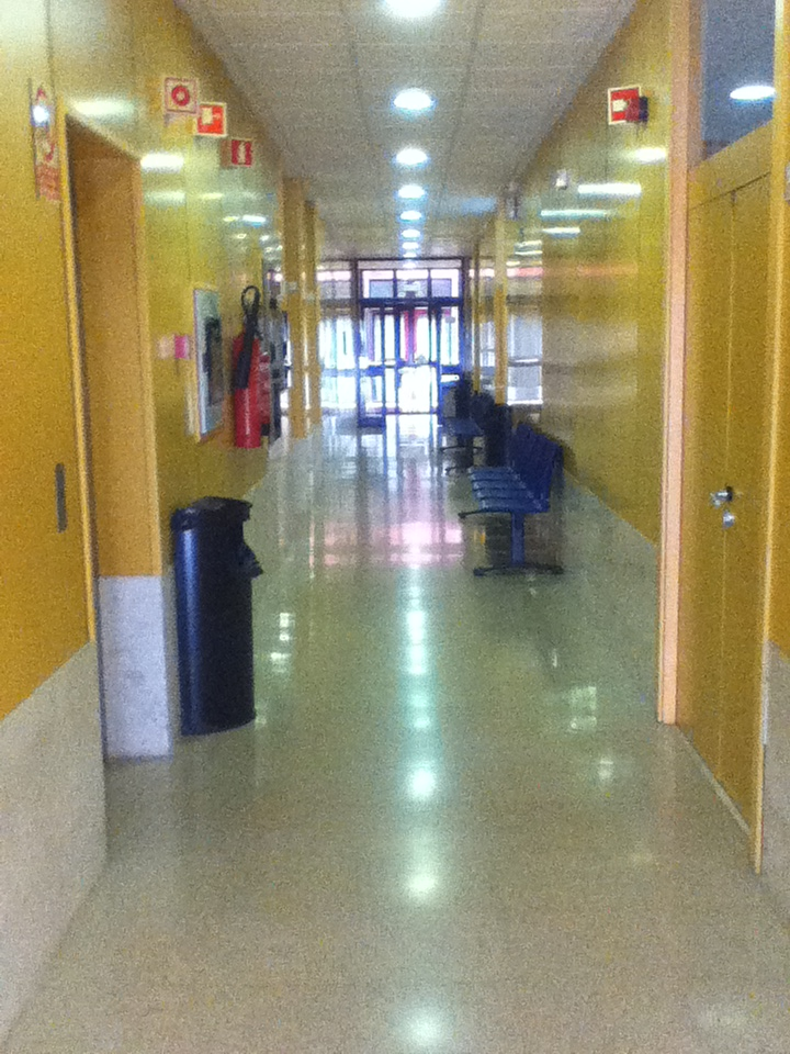 Pasillo Facultad ETSII