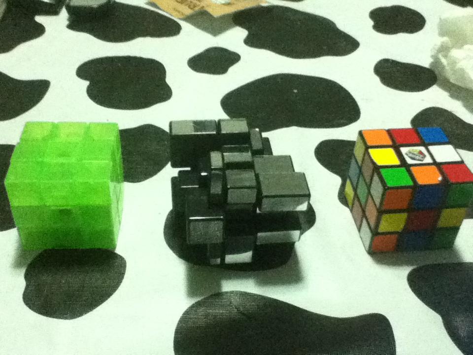Cubos de Rubik sin resolver