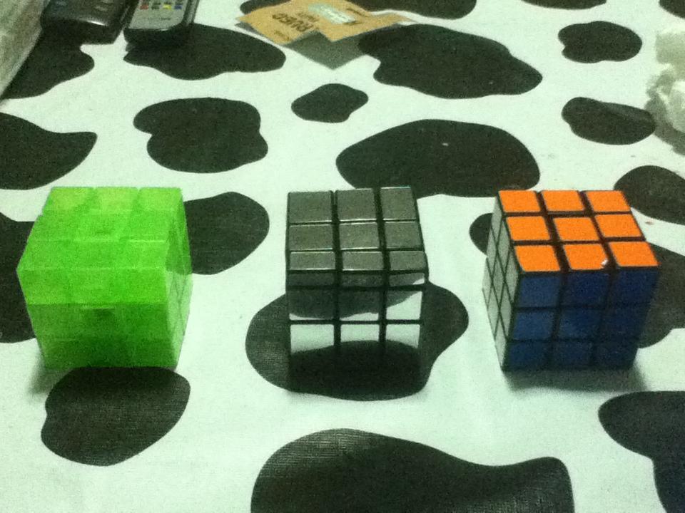 Cubos de Rubik resueltos