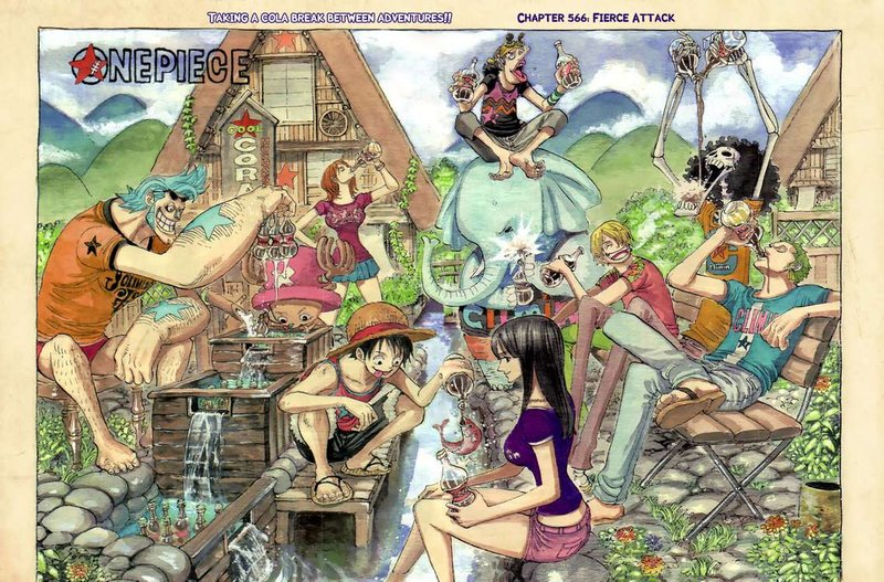 Color Spread One Piece