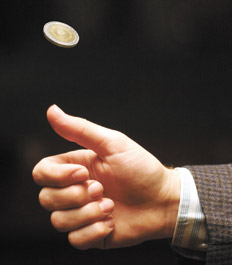 Moneda al aire