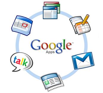 Anillo de aplicaciones de Google Apps