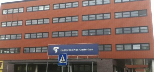 Edificio de Hogeschool van Amsterdam: School of Dwsign and Communication